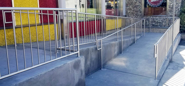 Stair Rail Linwood Diner