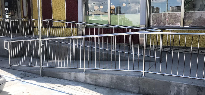 Stair Rail Linwood Diner 2
