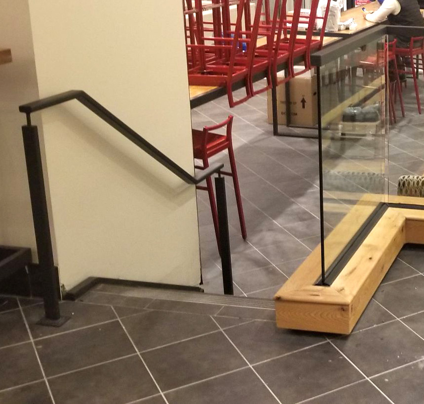 Glass Partitions & Railings - Chick-fil-A,  New York City