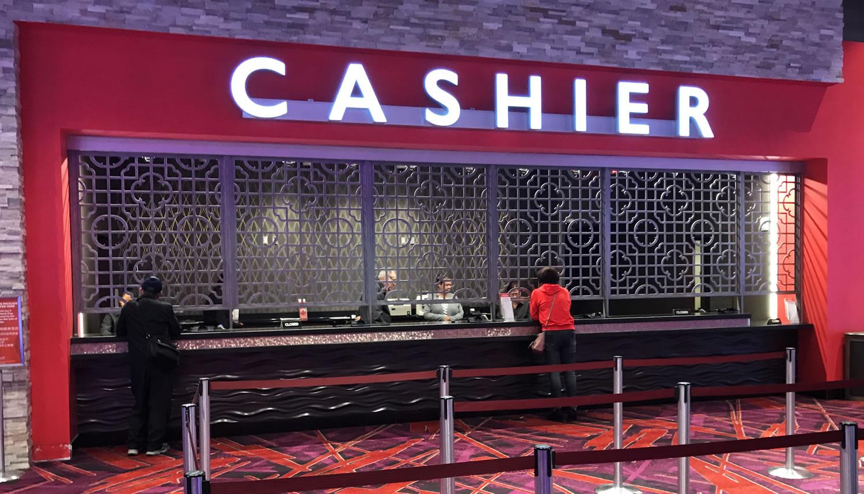 Custom Cashier Window Grate - Resorts World Catskills