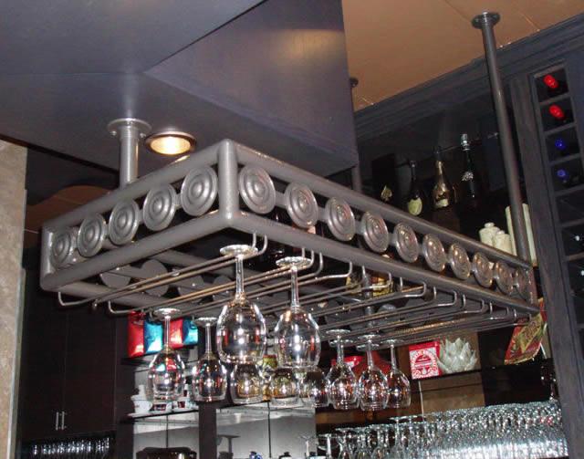 Custom Glass Rack