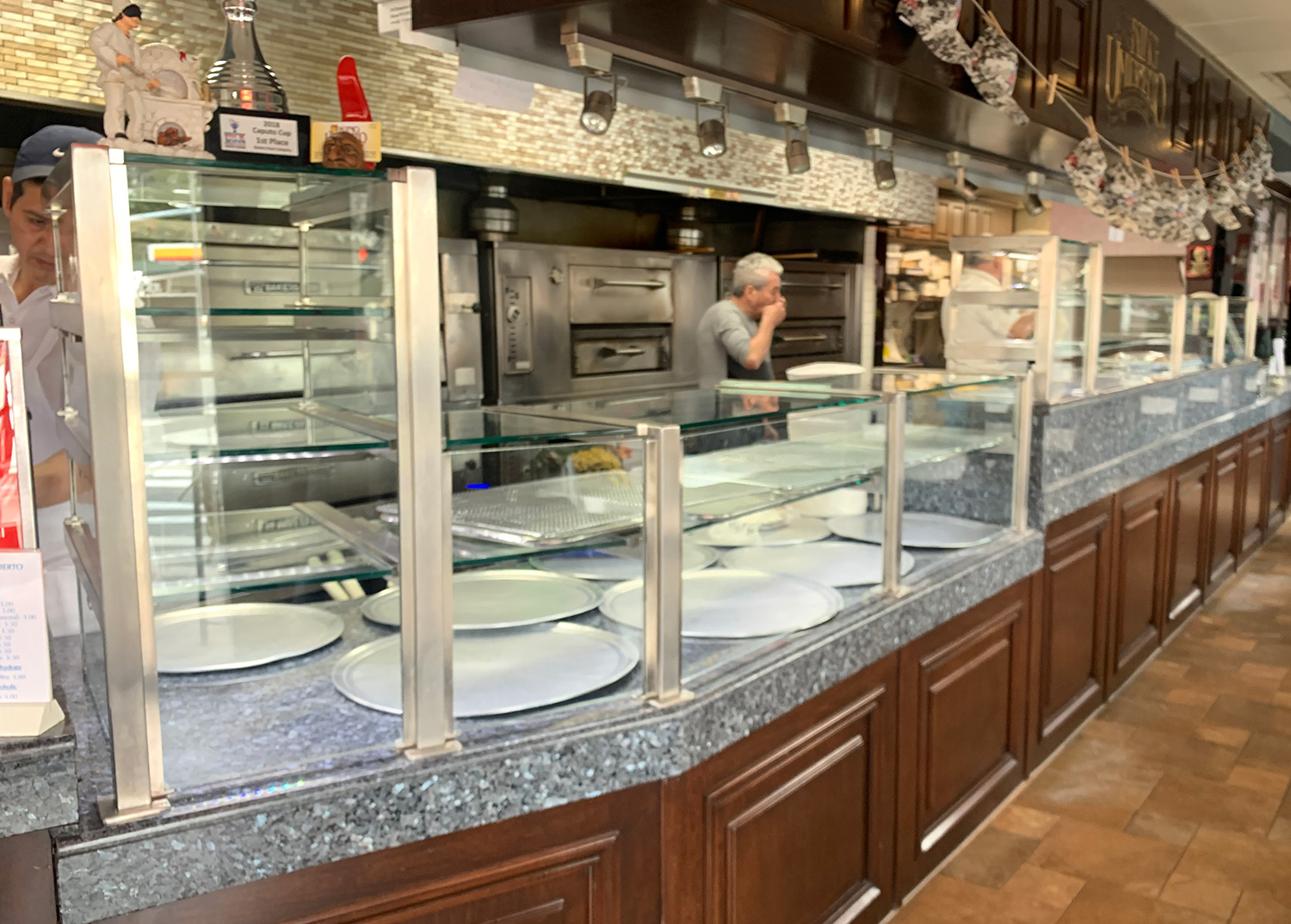 1 1/2 inch  Square Stainless Steel with LED Lights | King Umberto, Elmont, NY
