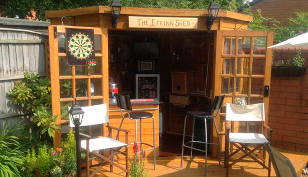 Pub-Style Shed
