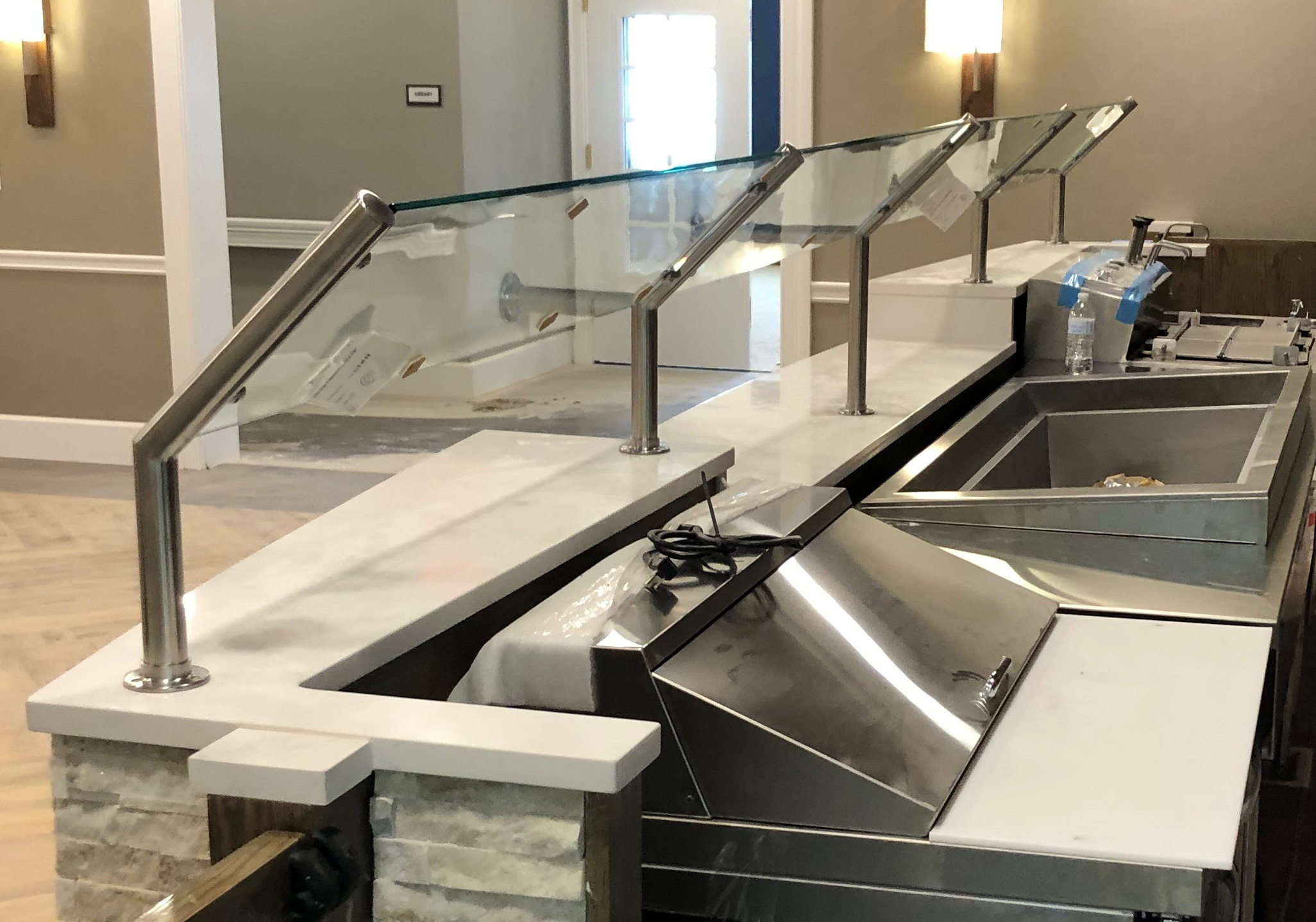 Satin Stainless Steel | The Bristal Assisted Living at Somerset, NJ