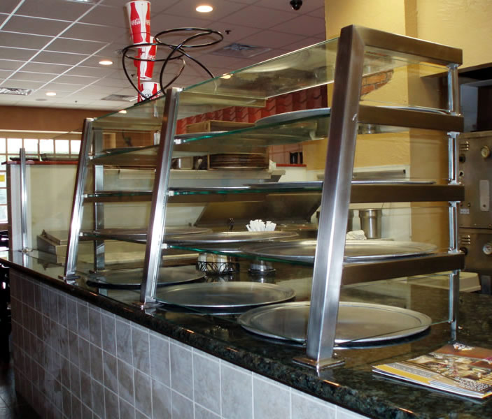4 Tier Satin Stainless Steel