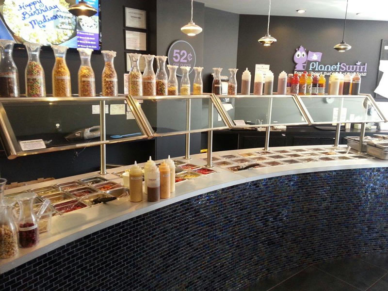 Planet Swirl Yogurt Store