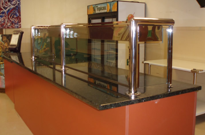 Hospital Cafeteria - Polished Stainless Steel