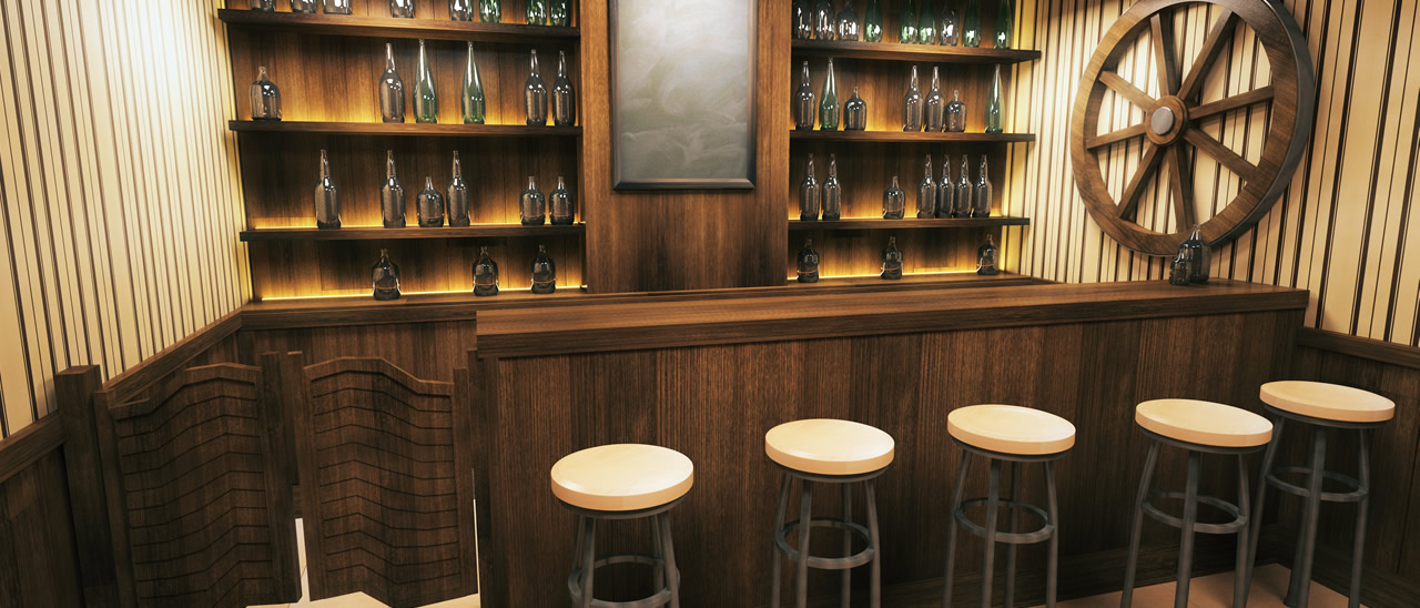 How To Design The Ultimate Man Cave Bar | ESP Metal Products & Crafts