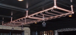 Bar Glass Racks & Service Bar Rails Galleries