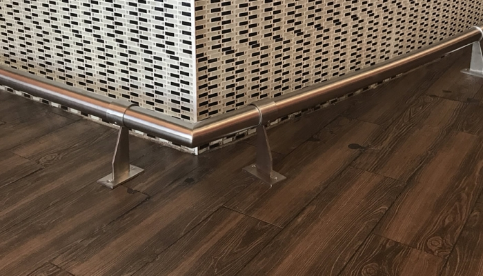 The Ultimate Bar Foot Rail Guide - ESP Metal Products & Crafts