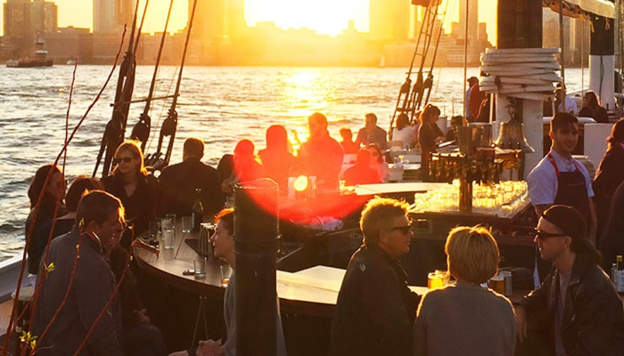 Best Waterfront Restaurants in Manhattan - ESP Metal Products & Crafts