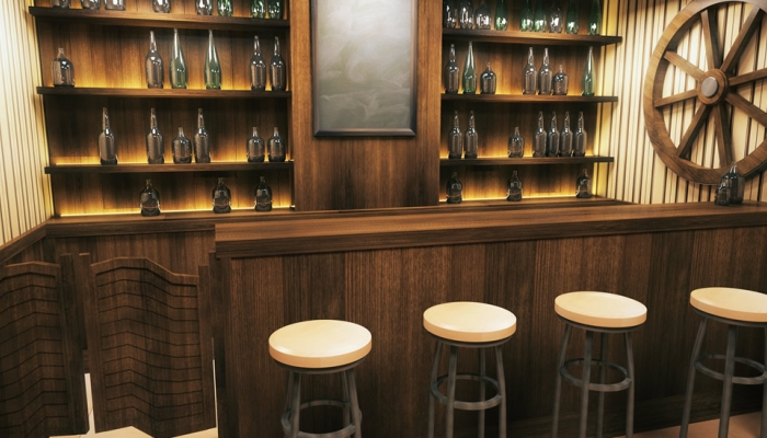 How To Design The Ultimate Man Cave Bar - ESP Metal Products & Crafts