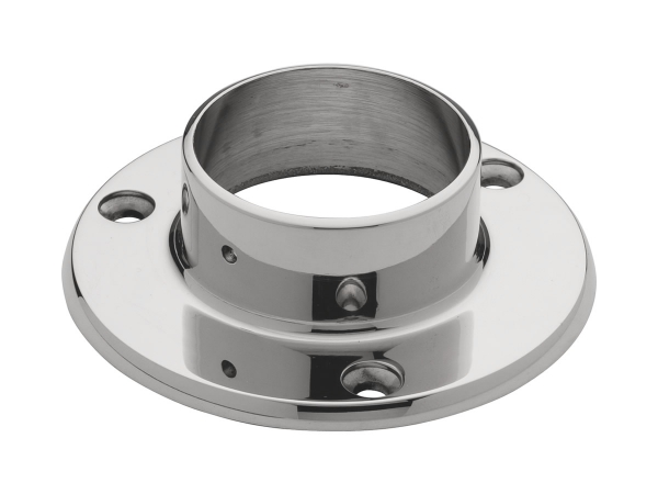 Model 505 Polished Stainless Steel Wall Flange - ESP Metal Products & Crafts