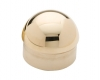 Model 730 Polished Brass Domed End Cap - ESP Metal Products & Crafts