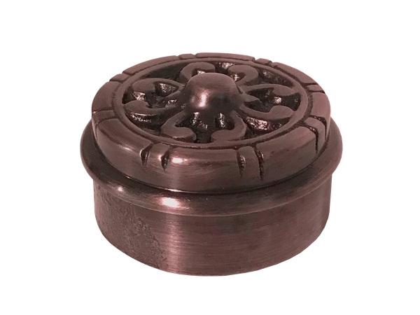 Model 733 Antique Copper Decorative End Cap - ESP Metal Products & Crafts