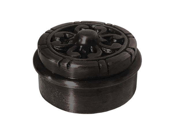 Model 733 Oil Rubbed Bronze Decorative End Cap - ESP Metal Products & Crafts