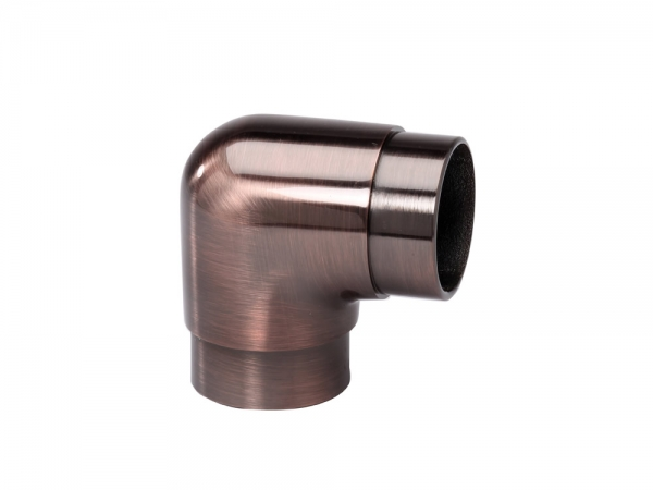 Model 303 Antique Copper Flush Elbow, 90° - ESP Metal Products & Crafts