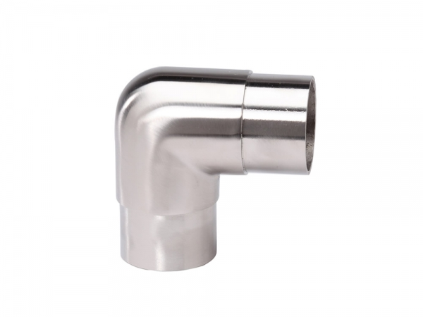 Model 303 Satin Stainless Steel Flush Elbow, 90° - ESP Metal Products & Crafts