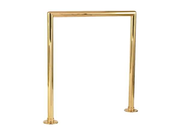 Model MDR Single Line Polished Brass Divider Rail   ESP Metal Products U0026  Crafts