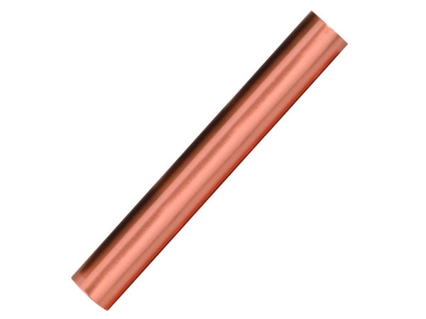 Satin Copper Foot Rail Tubing - ESP Metal Products & Crafts