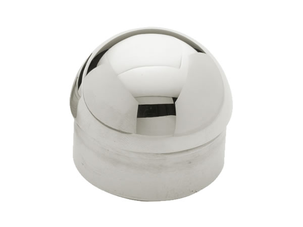 Model 730 Polished Stainless Steel Domed End Cap Esp
